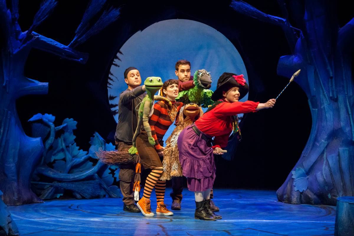 Room on the Broom Theatre Royal Winchester
