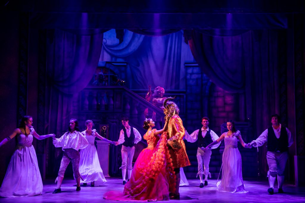 beauty and the beast at Theatre Royal Winchester