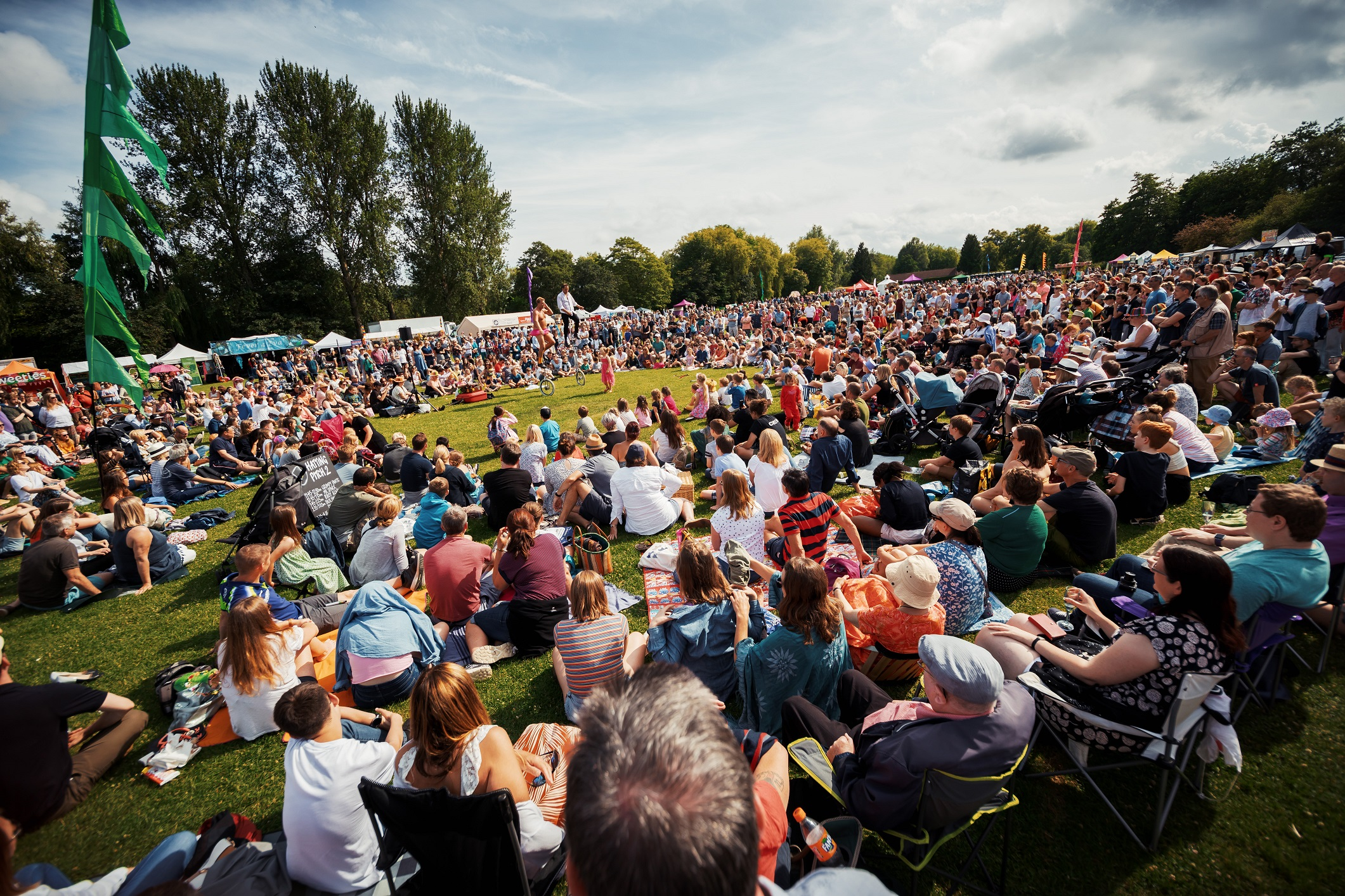 Picnic grounds - Winchester Hat Fair