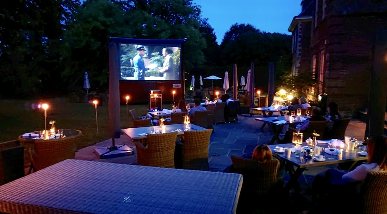 Lainston House Hotel movies at Moonlight