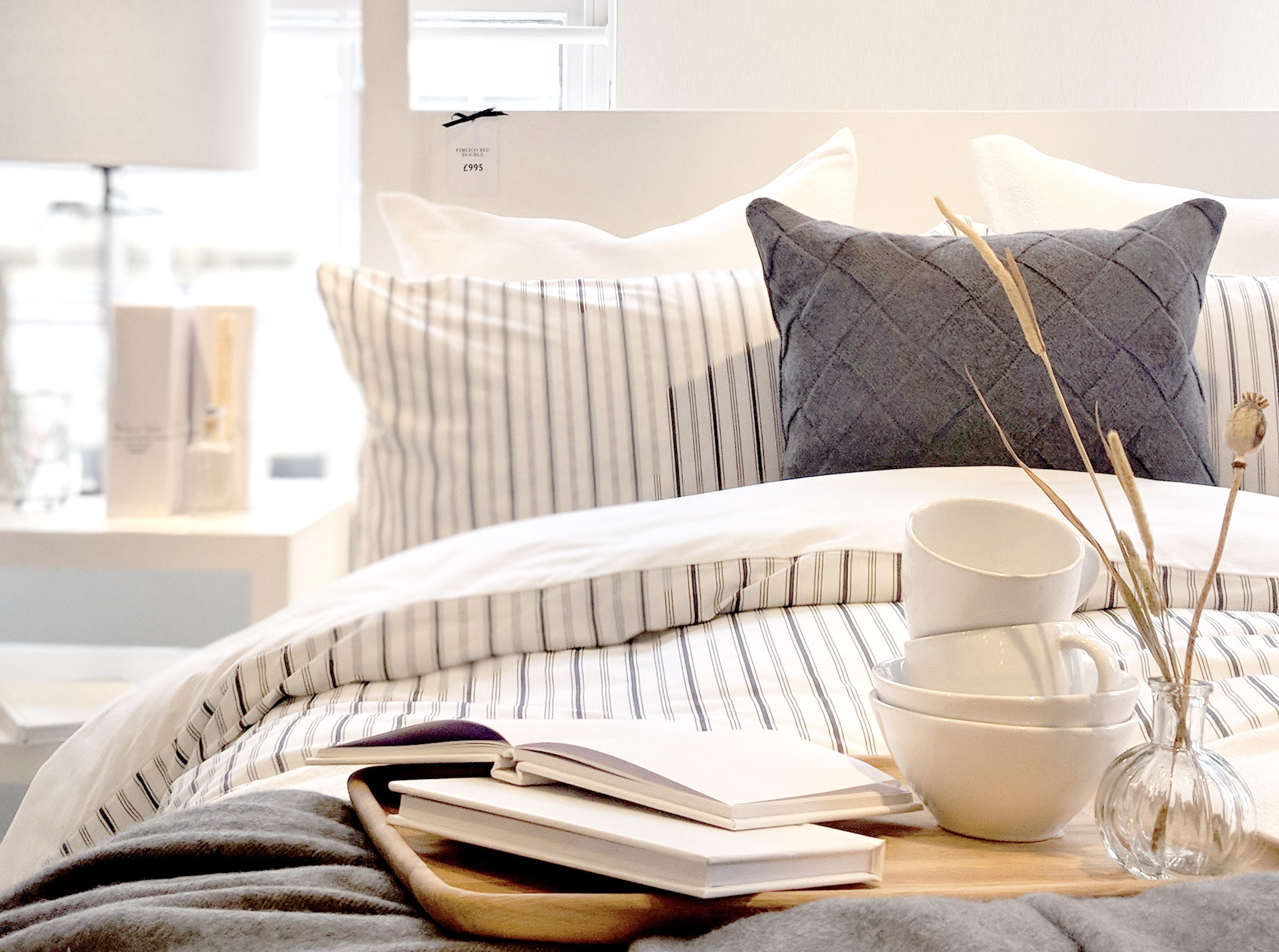 Bed made by The White Company